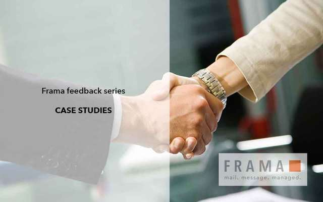 Frama has received feedback from customers